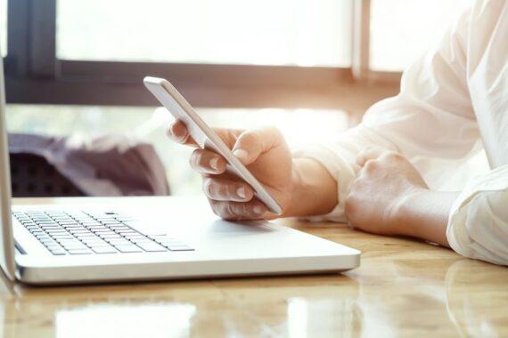 Smartfon do pracy w domu